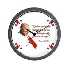 PJPII - Freedom Wall Clock