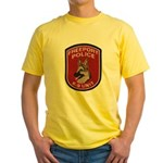 Freeport Police K9 Yellow T-Shirt