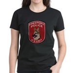 Freeport Police K9 Women's Dark T-Shirt