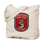 Freeport Police K9 Tote Bag