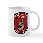 Freeport Police K9 Mug