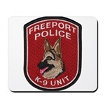 Freeport Police K9 Mousepad