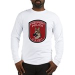 Freeport Police K9 Long Sleeve T-Shirt