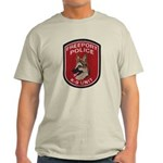 Freeport Police K9 Light T-Shirt