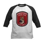 Freeport Police K9 Kids Baseball Jersey