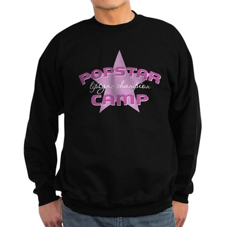 Popstar Camp Lipsync champion Sweatshirt (dark)