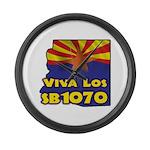 Viva Los SB1070 Large Wall Clock