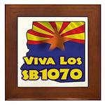 Viva Los SB1070 Framed Tile