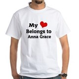 My Heart Belongs to Anna Grace Shirt