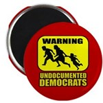 Undocumented Democrats 2.25&amp;quot; Magnet (100 pack