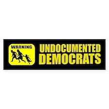 Undocumented Democrats Bumper Sticker