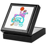 SABRA DOG(Basketball)Jewish/Israeli Keepsake Box