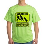 Undocumented Democrats Green T-Shirt