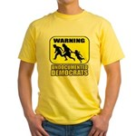 Undocumented Democrats Yellow T-Shirt