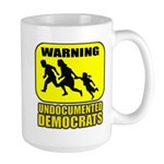 Undocumented Democrats Large Mug