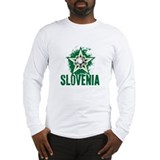 SLOVENIA SOCCER Long Sleeve T-Shirt