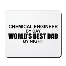 World's Best Dad - Chem Eng Mousepad