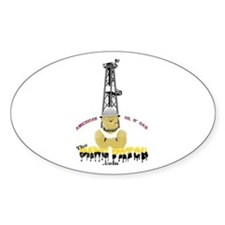Cute Oil field trash Decal