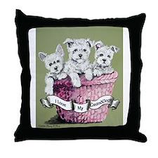 GrandDogs!!! Throw Pillow
