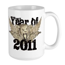 Year of 2011 Winged Lion Mug
