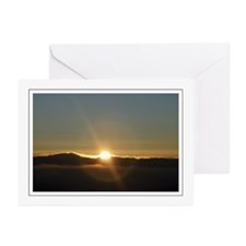 Sunrise Sunburst Greeting Cards (Pk of 10)
