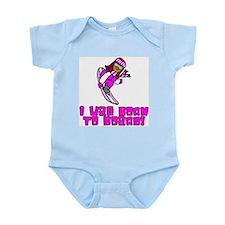 Born to Board Emma Infant Creeper