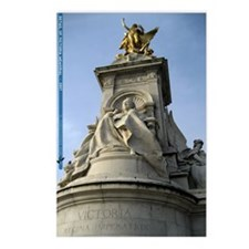 Victoria Memorial Statue Postcards (Package of 8)