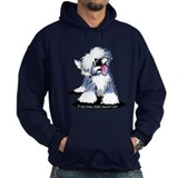 Curious OE Sheepdog  Hoodie