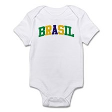 Brasil Green Yellow Blue Infant Bodysuit