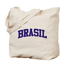 Brazil Blue Tote Bag