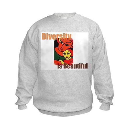 Diversity is Beautiful (2) Kids Sweatshirt
