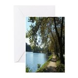 Lakeside walk greeting cards (10 Pk)
