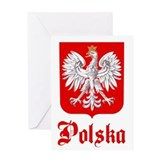 Poland Greeting Card
