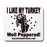 Peppered Turkey Mousepad