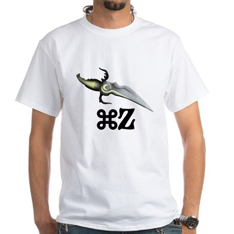 Command Z White T-Shirt