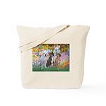 Garden / 3 Boxers Tote Bag