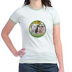 Garden / 3 Boxers Jr. Ringer T-Shirt