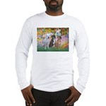 Garden / 3 Boxers Long Sleeve T-Shirt