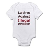 No Illegal Immigration Infant Bodysuit