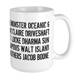 Lost Names Coffee Mug