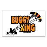 Buggy Xing Rectangle Sticker