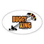 Buggy Xing Oval Sticker