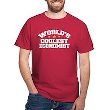 World's Coolest Economist T-Shirt