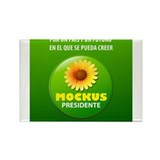 Mockus Presidente 2010-2014 Rectangle Magnet