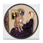 WMom - Boxer (D) Tile Coaster