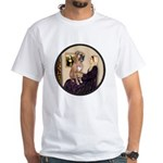 WMom - Boxer (D) White T-Shirt