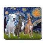 Starry / 3 Boxers Mousepad