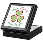 Love of the Irish Keepsake Box