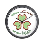Love of the Irish Wall Clock