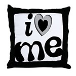 I Love Me Throw Pillow